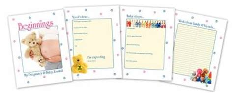 printable baby journal free downloadable printable pregnancy and baby journal