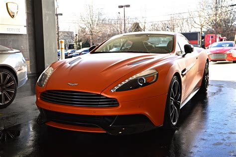 2014 aston martin vanquish 04 iphone 6 wallpapers hd matte orange aston martin vanquish by hcitron on deviantart