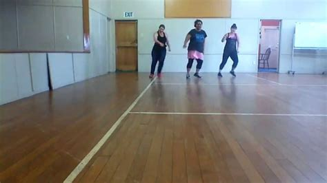 tutorial dance new thang dance fitness new thang red foo easy steps youtube