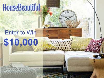 house beautiful sweepstakes www housebeautiful com sweepstakes 29034 make over your
