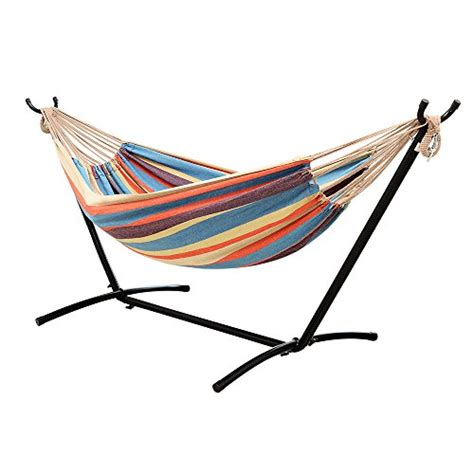 Steel Hammock ohuhu hammock with space saving steel stand includes portable carrying relaxing