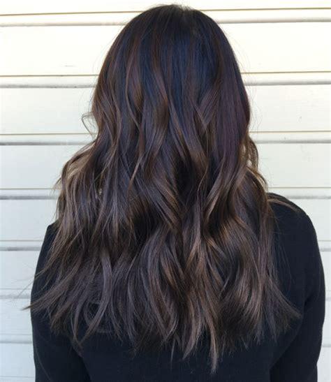 Light Brown Short Hair Top Balayage For Dark Hair Black And Dark Brown Hair