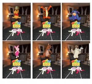 diy small 12 winnie the pooh birthday centerpieces
