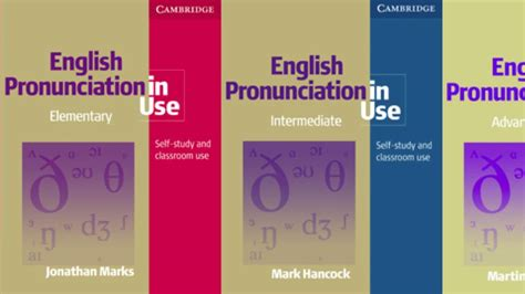 esl english pronunciation english pronunciation in use by jonathan marks mark