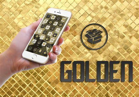 gold themes ios 8 golden ios 8 oroginal tema grandioso cydia theme