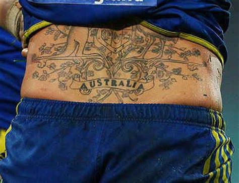 australian coat of arms tattoo designs the 14 most fair dinkum tattoos known to
