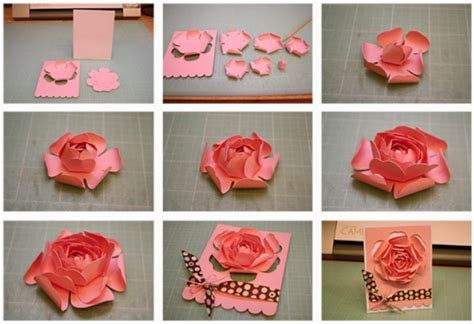 31 cara membuat bunga dari kertas beserta gambar jamin cara membuat bunga ros dari kertas warna cara kreatif