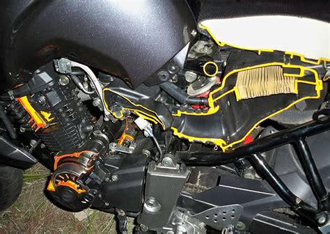 Karet Filter F1z Roriginal Yamaha tips merawat karburator si kebo