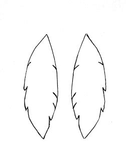Earring Card Template Silhouette by A Bit Of Make Something Monday Suede Feather