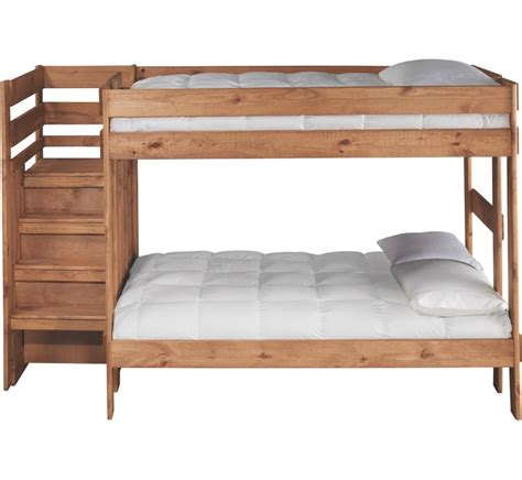 badcock furniture bunk beds cabin retreat full full stairchest bunkbed badcock more
