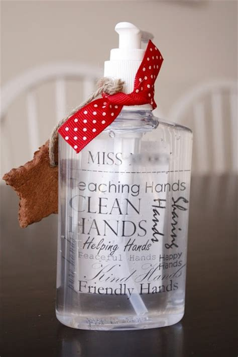 hand sanitizer teacher christmas gifts teacher pinterest teaching bottle  merry christmas