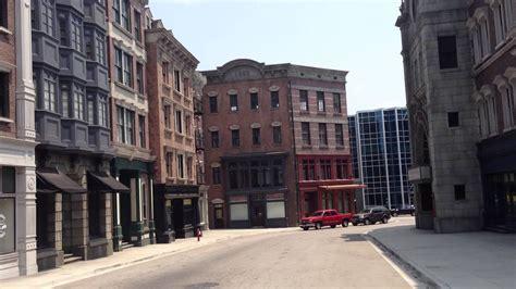 hollywood city news new york city movie set universal studios youtube