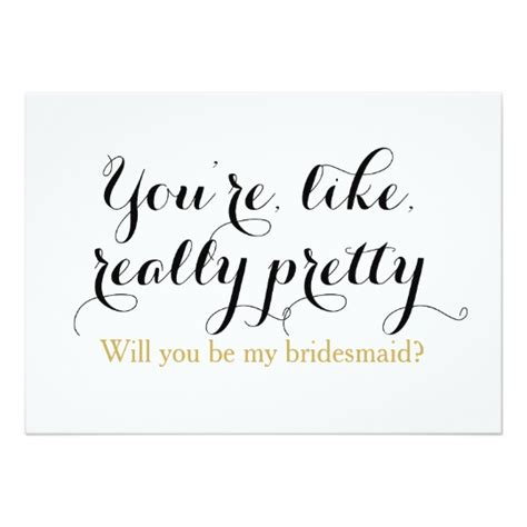 Be My Bridesmaid Card Template by Custom Will You Be My Bridesmaid Wedding Card