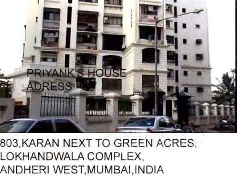 priyanka chopra house mumbai images priyanka chopra house home full adress and car collection