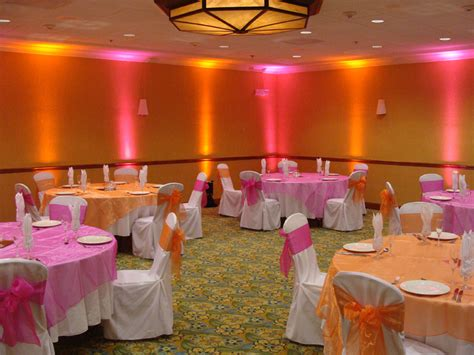 pink wedding theme decorations orange and pink ideas wedding shower decorations
