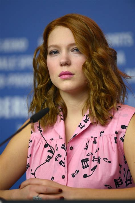 lea seydoux beauty and the beast lea seydoux at beauty and the beast press conference in