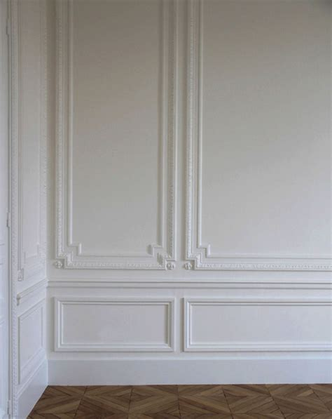 paneled walls classic architectural wall embellishments featuring