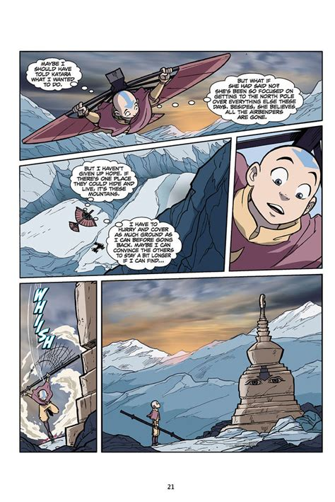 Avatar The Last Airbender The Lost Adventures 1 avatar the last airbender the lost adventures chapter 1