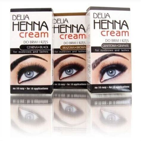 delia henna eyebrows cream makeup eyebrow tint brows gel