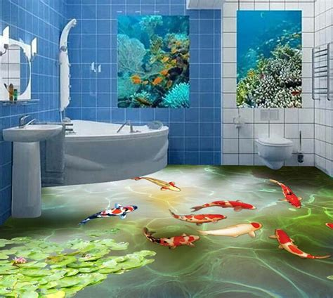 3d painting bathroom floor 3d painted bathroom floor google search 3d paintings