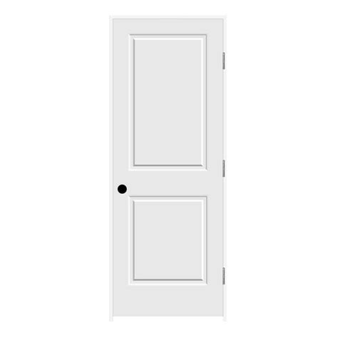 Home Depot Jeld Wen Interior Doors Jeld Wen 32 In X 80 In C2020 Primed 2 Panel Solid Premium Composite Single Prehung