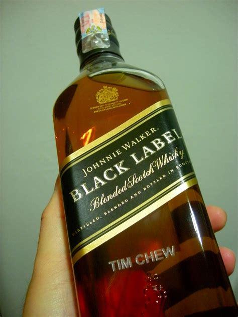 Black Label new johnnie walker black label bottle launch timchew net