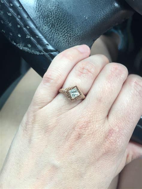 is my engagement ring weddingbee