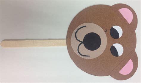 bear pattern for kindergarten bear crafts for kids google search school ideas