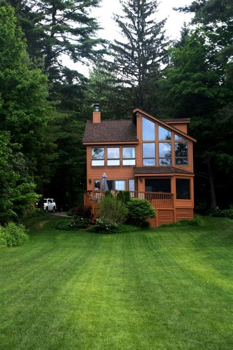 lake front house lake front home with sunset mountain homeaway broadalbin