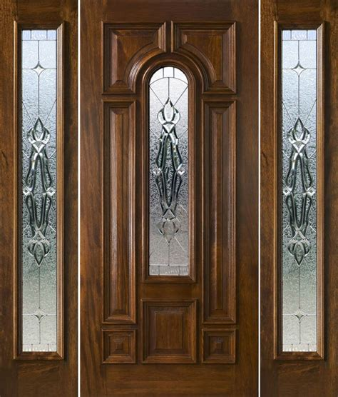 Front Entry Door With Sidelights And Transom Front Door With Sidelights And Transom Saratoga Exterior Doors With Sidelights Solid