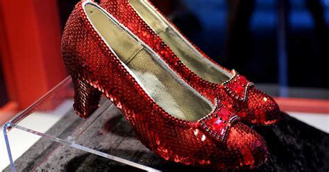 ruby slippers stolen 1 million reward up for return of stolen wizard of oz