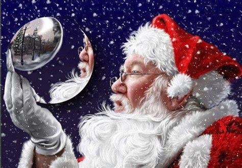 now that s a santa snow globe santa claus i believe