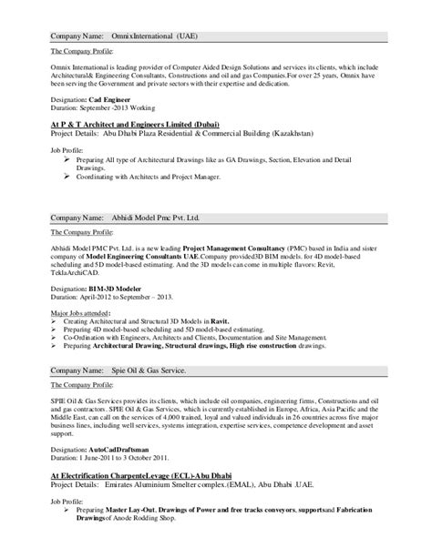 sle model resume and gas electrical engineer resume sle 28 images and