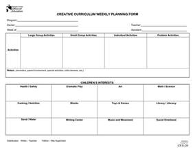 Preschool Lesson Plan Template Creative Curriculum by Emergent Curriculum Preschool Lesson Plan Template