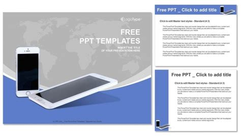 mobile ppt themes free download mobile phones with lines powerpoint templates