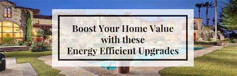 5 energy efficient upgrades to increase home value