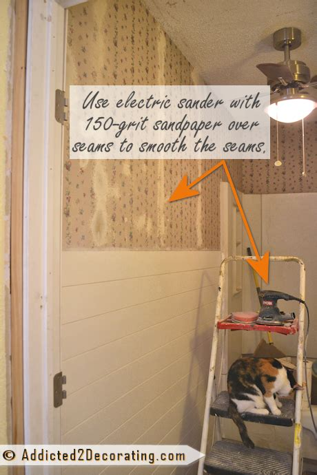 bathroom makeover day 9 how to remove wallpaper without