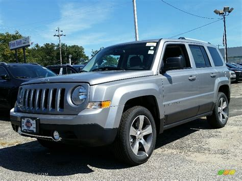 silver jeep patriot 2016 billet silver metallic jeep patriot high altitude 4x4