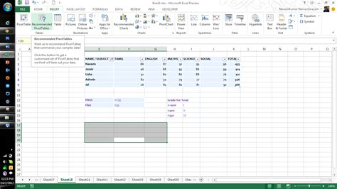 how to a pivot table in excel 2013 microsoft excel 2013 features part three qainsights com
