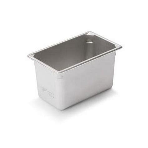 vollrath steam table pan third size quot super pan v 226 162 quot 6