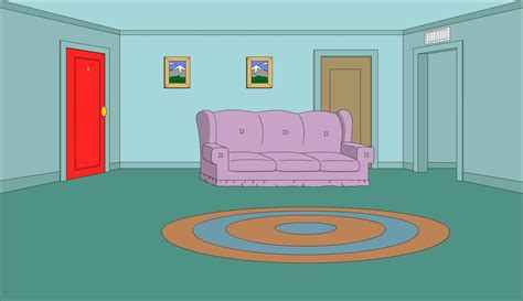 family guy living room living room by derixen on deviantart