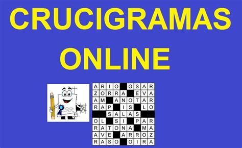 crucigramas online juegos de crucigramas gratis