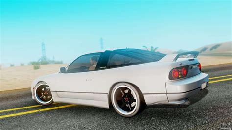 Car Mod Types by Nissan 180sx Type X For Gta San Andreas