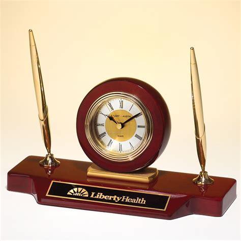 Promo Color Change Digital Desk Clock With Pen Holder Jk 286 black leatherette desktop caddy with white stitches china