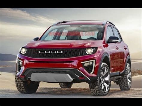 Ford Maverick 2020 by 2020 Ford Baby Bronco Baby Roader Rendering