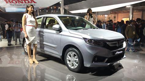 honda 2018 new car all new honda amaze unveiled at auto expo 2018 details