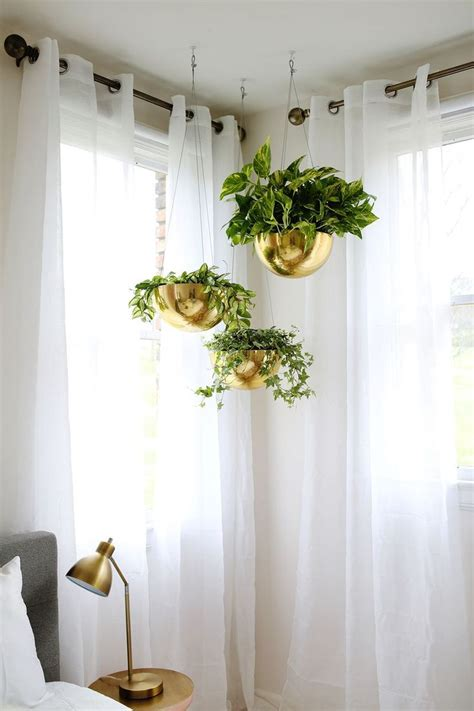 hanging plants from ceiling 25 best ideas about corner curtains on corner
