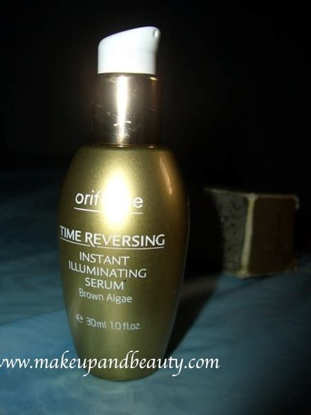 Serum Oriflame oriflame time reversing instant illuminating serum review