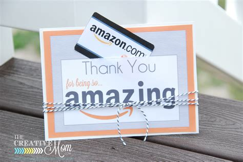 How To Cancel Amazon Gift Card - amazon gift card tag printable 2 the creative mom