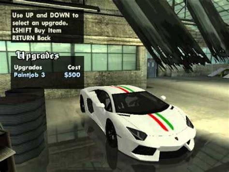 Gta San Andreas Cheats For Ps2 Lamborghini Gta San Andreas Lamborghini Aventador Car Mod And